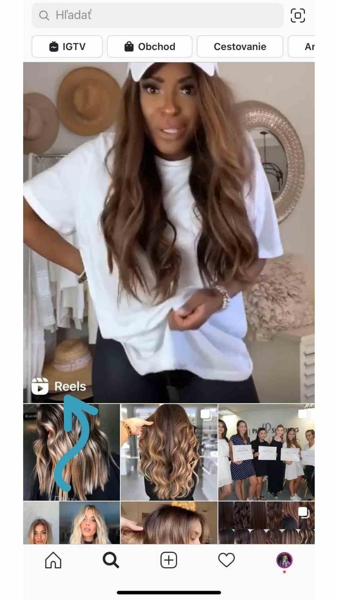 Instagram reels sa zobrazia aj vo výsledkoch vyhľadávania