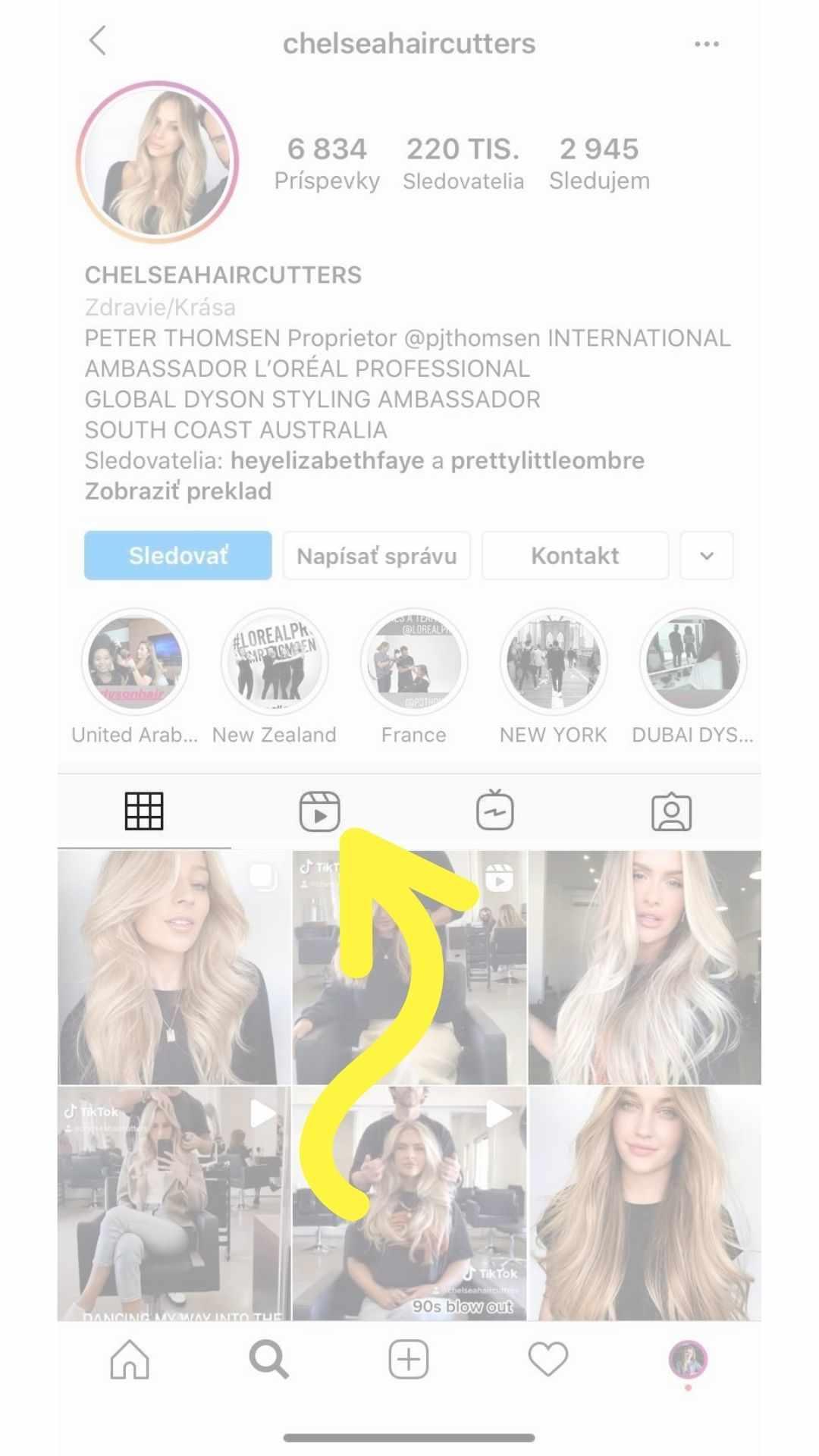 Instagram reels sa zobrazia na vašom profile
