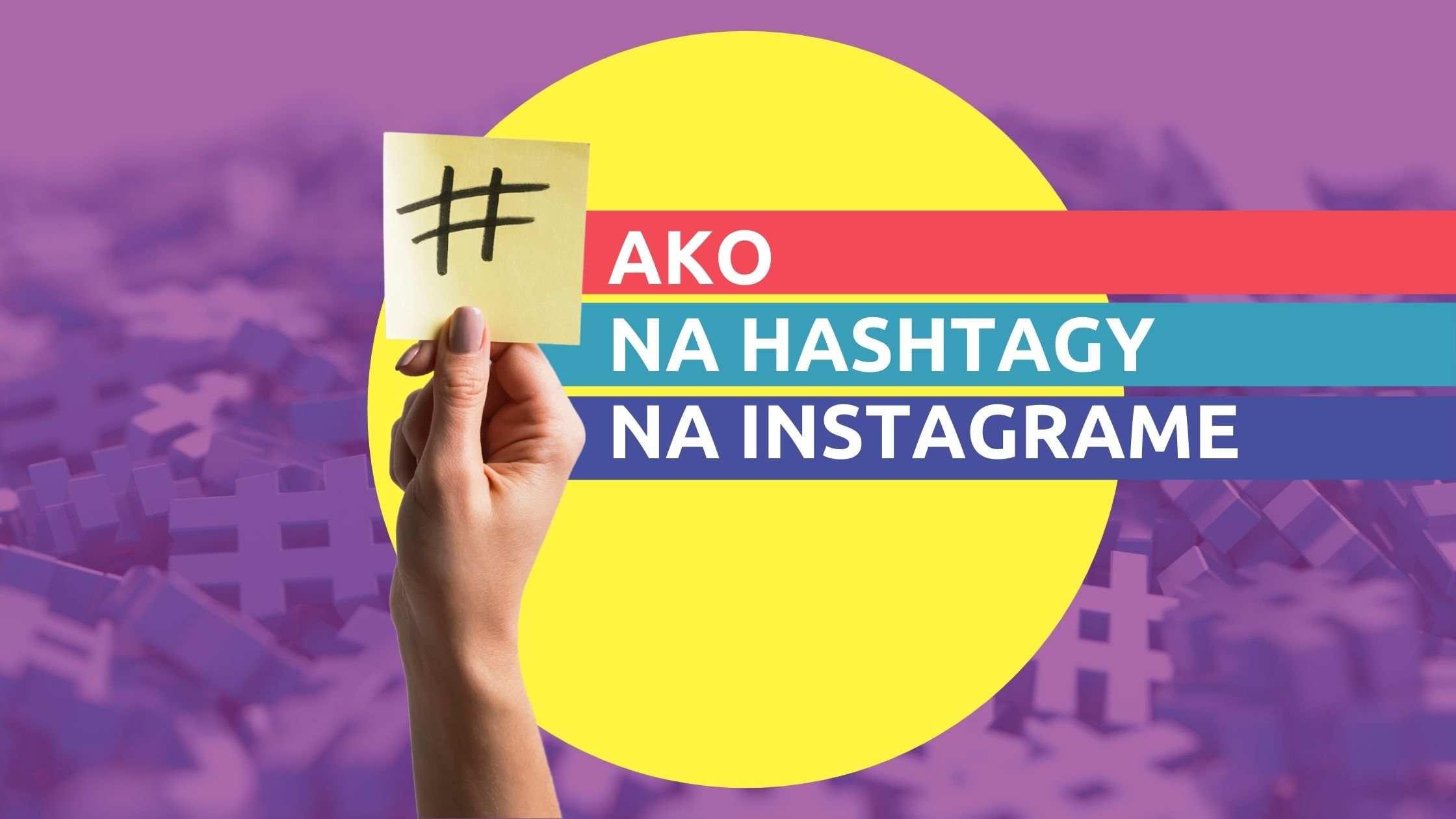 Článok na Marketing pre salóny - Ako na hashtagy