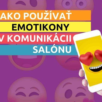 Ako používať emoji v komunikácii salónu?