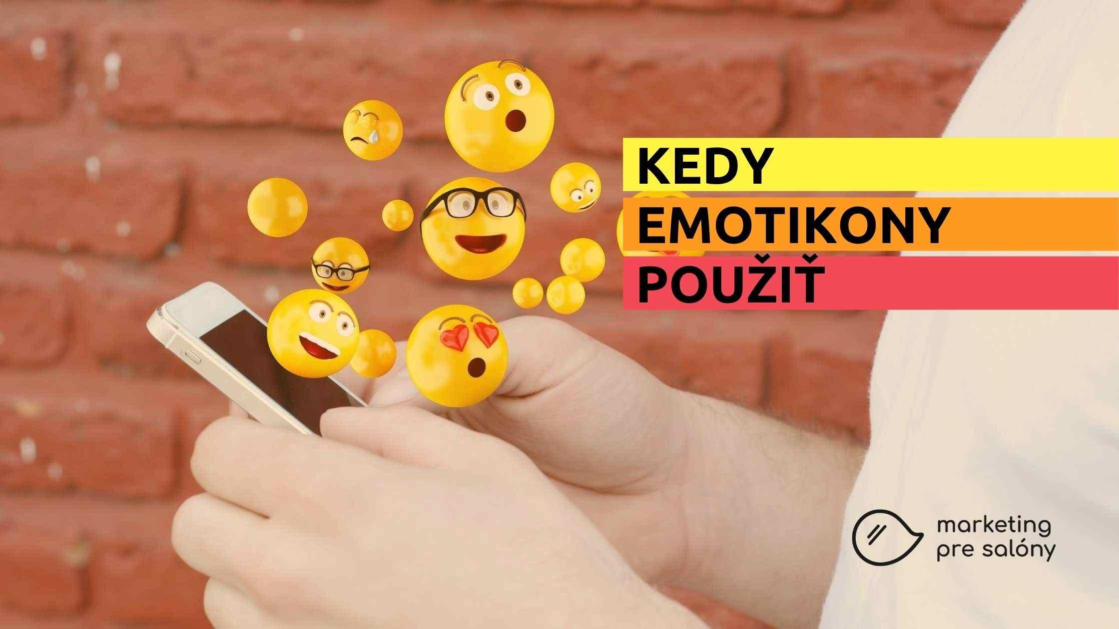 Kedy emoji použiť